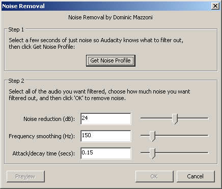 COE Exchange » Using Audacity to Convert Analog Cassettes to MP3