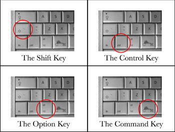 Apple Modifier Keys